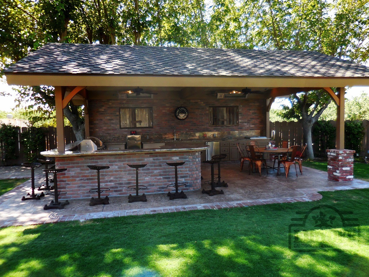 Outdoor Kitchens | Lidyoff Landscaping Development Co.